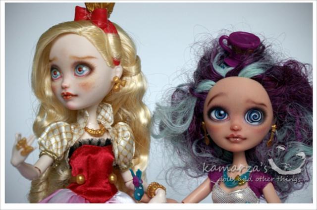 Как сделать ооак для куклы эвер афтер хай 80